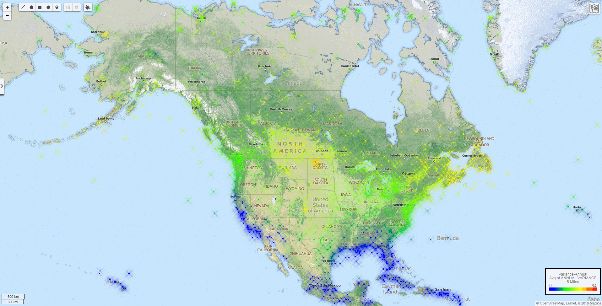 Variance-Annual-North-America